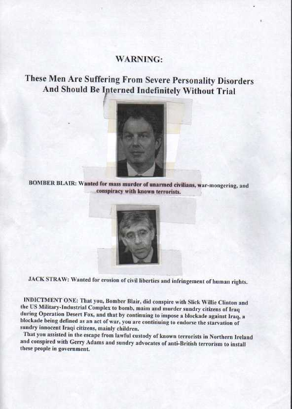 THESE MEN HAVE SEVERE PERSONALITY DISORDERS - 1